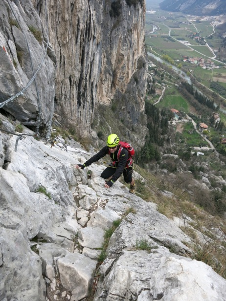 Via Ferrata above the Sarca Valley