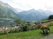 Rest above Champery